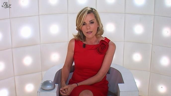 Laurence Ferrari dans le Grand Journal de Canal Plus. Diffusé à la télévision le 06/06/12.