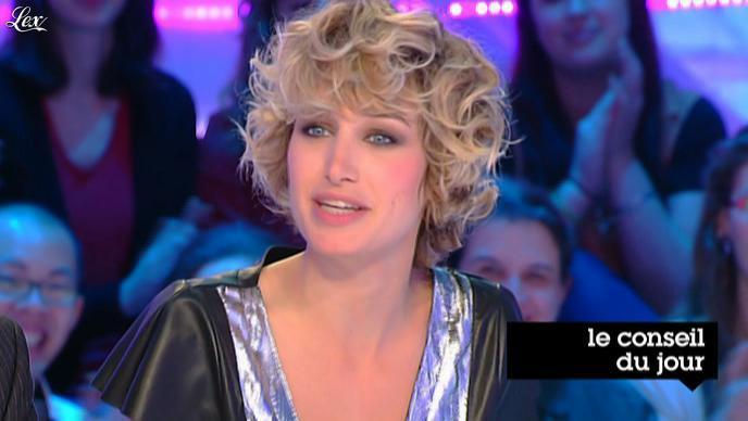Pauline Lefèvre dans la Nouvelle Edition. Diffusé à la télévision le 09/01/12.