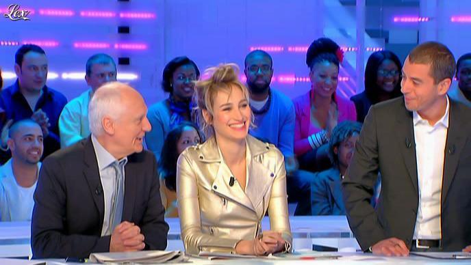Pauline Lefèvre dans la Nouvelle Edition. Diffusé à la télévision le 15/03/12.
