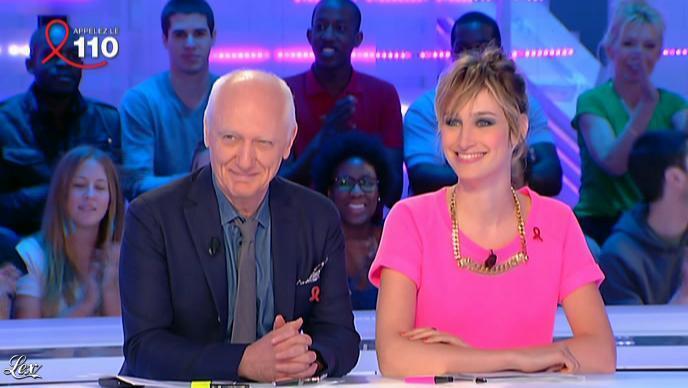Pauline Lefèvre dans la Nouvelle Edition. Diffusé à la télévision le 30/03/12.