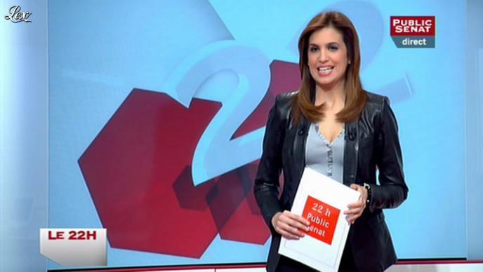 Sonia Mabrouk dans le 22h. Diffusé à la télévision le 04/01/12.