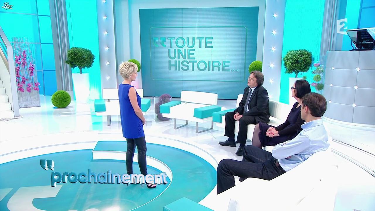 Sophie Davant dans une Bande-Annonce de Toute une Histoire. Diffusé à la télévision le 14/05/12.