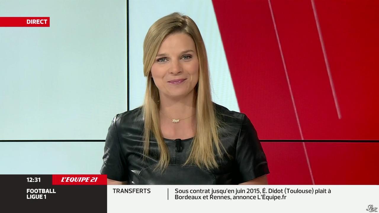 France Pierron dans Menu Sport. Diffusé à la télévision le 17/06/13.