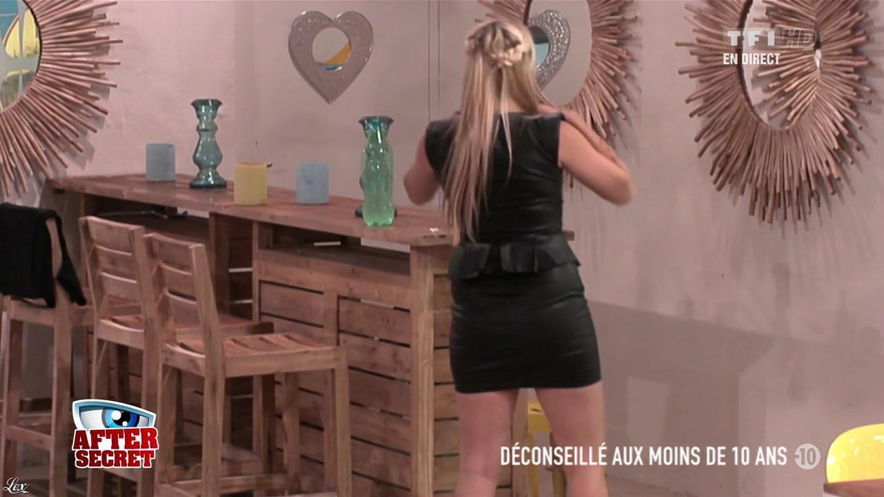 Alexia dans Secret Story. Diffusé à la télévision le 28/06/13.