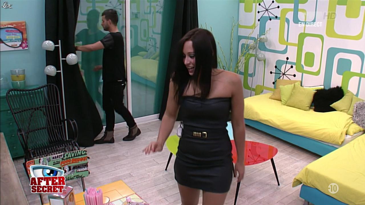 Emilie dans Secret Story. Diffusé à la télévision le 28/06/13.