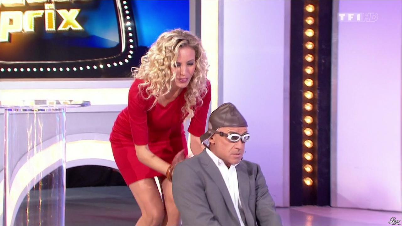 Nadia Aydanne dans le Juste Prix. Diffusé à la télévision le 23/10/13.