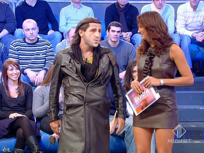 Magda Gomes dans Guida Al Campionato. Diffusé à la télévision le 21/12/08.