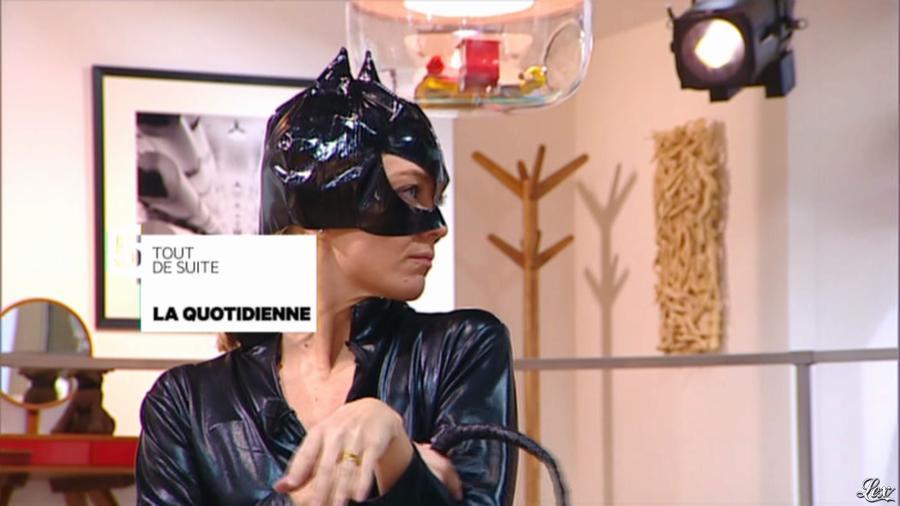 Maya Lauqué dans la Quotidienne. Diffusé à la télévision le 11/11/13.