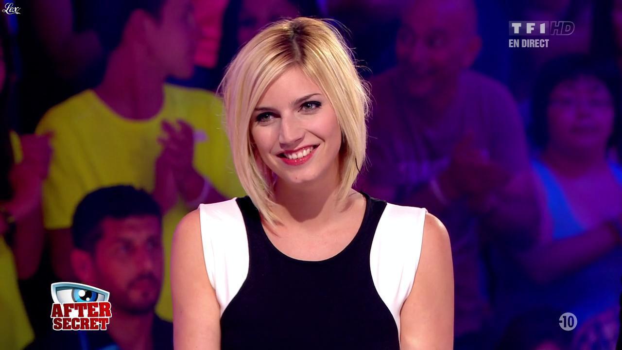 Nadege Lacroix dans Secret Story. Diffusé à la télévision le 23/08/13.