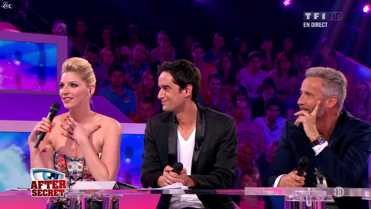 Nadege Lacroix dans Secret Story. Diffusé à la télévision le 28/06/13.