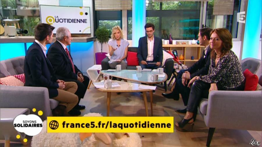 Valérie Durier dans la Quotidienne. Diffusé à la télévision le 02/05/14.