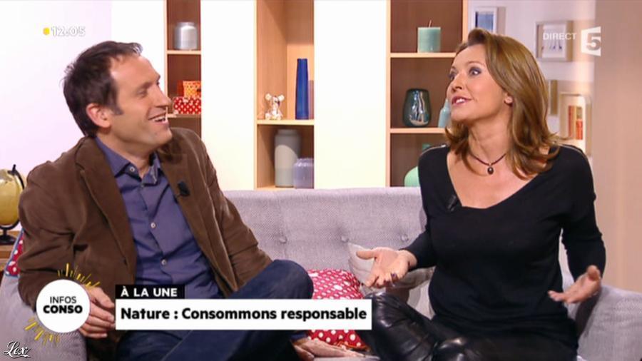 Valérie Durier dans la Quotidienne. Diffusé à la télévision le 05/11/13.