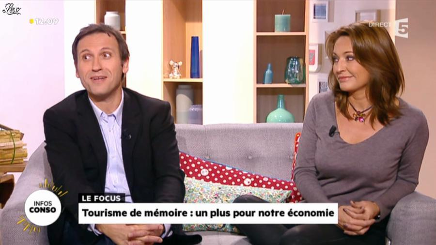 Valérie Durier dans la Quotidienne. Diffusé à la télévision le 11/11/13.