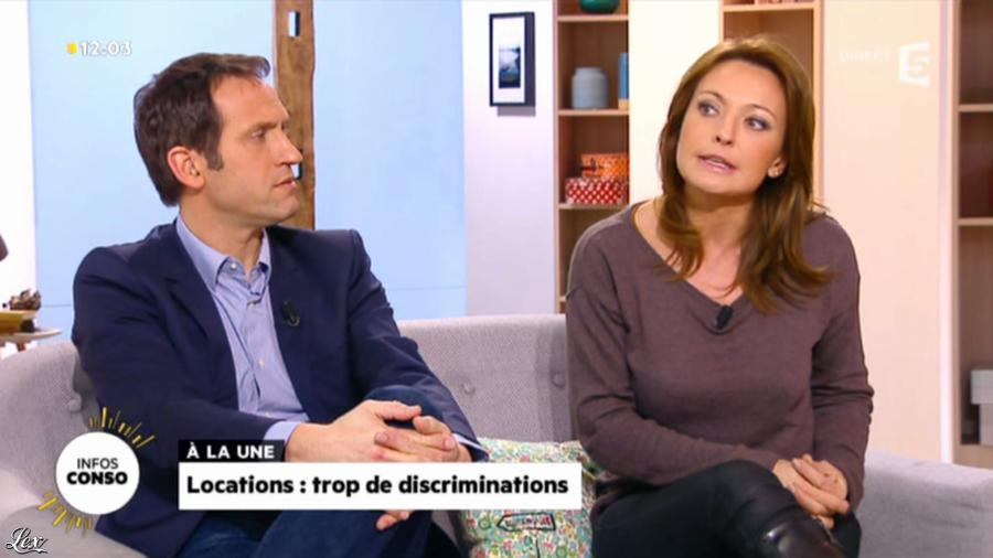 Valérie Durier dans la Quotidienne. Diffusé à la télévision le 19/02/14.