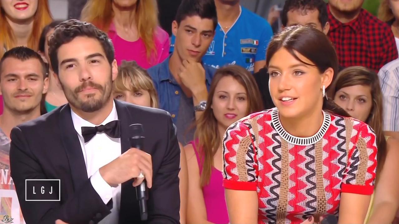 Adele Exarchopoulos dans le Grand Journal de Canal Plus. Diffusé à la télévision le 14/05/15.