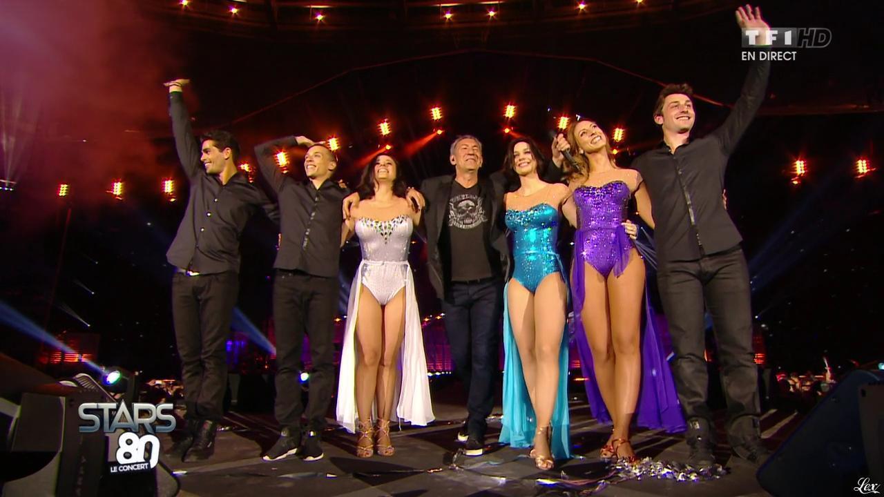 Alizée, Nathalie Pechalat et Silvia Notargiacomo dans Stars 80. Diffusé à la télévision le 09/05/15.