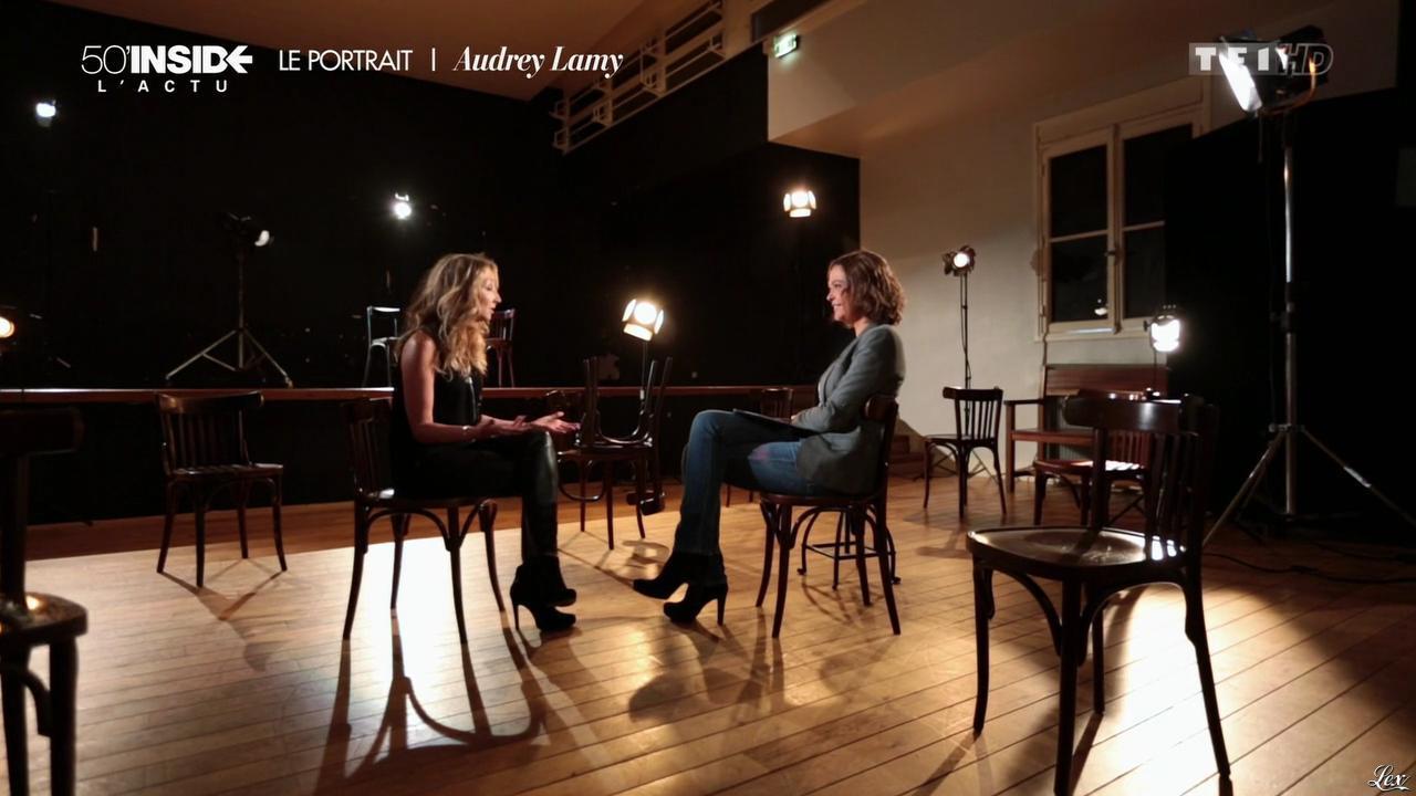 Audrey Lamy dans 50 Minutes Inside. Diffusé à la télévision le 09/05/15.