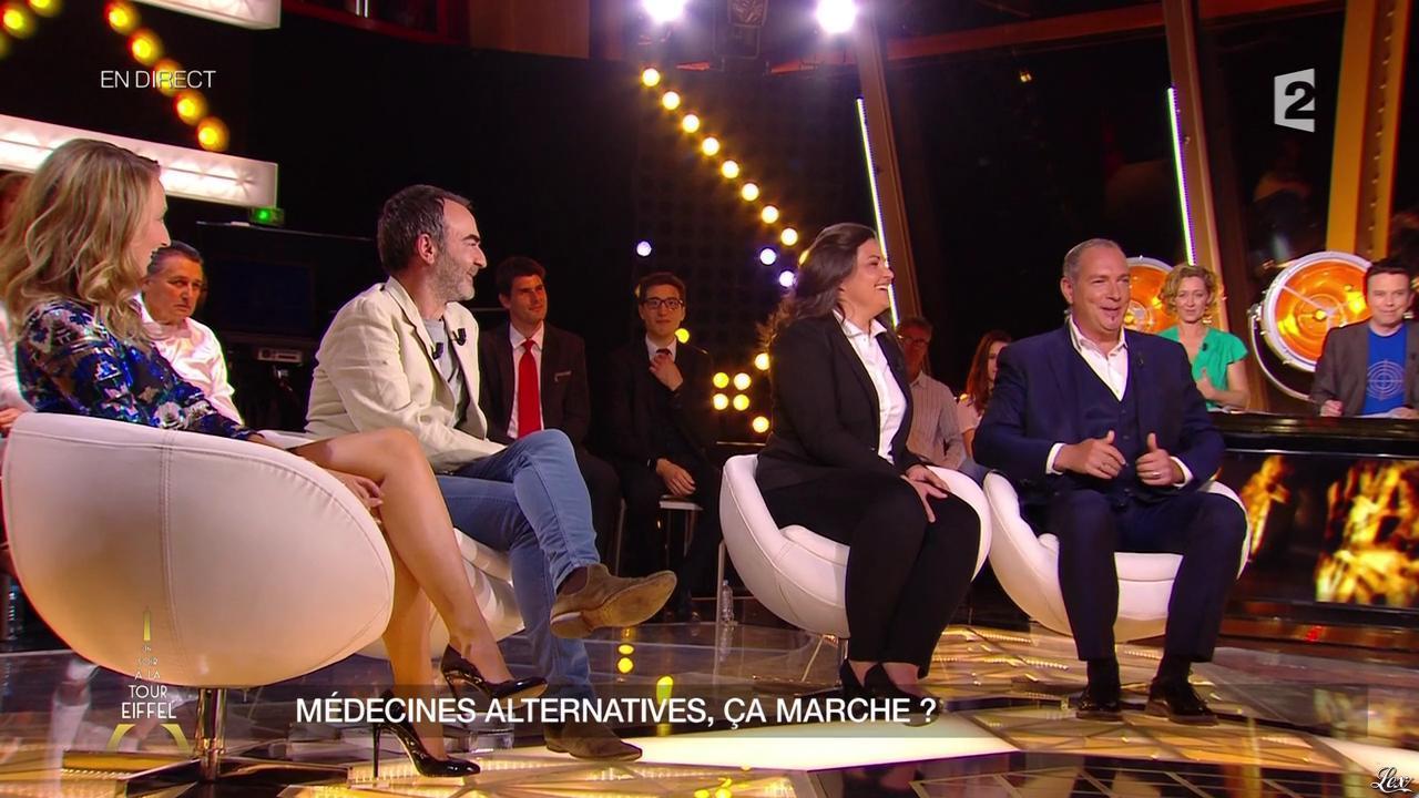 Audrey Lamy dans un Soir à la Tour Eiffel. Diffusé à la télévision le 27/05/15.