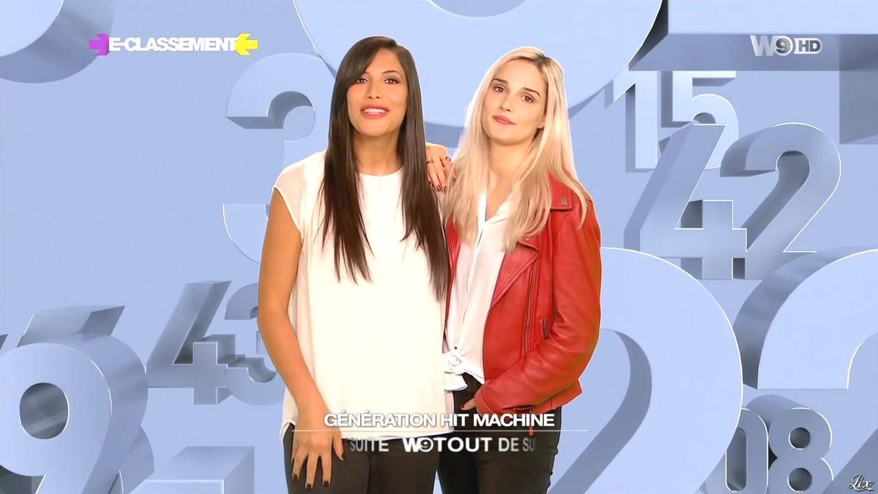 Camille Lou et Zaho dans e Classement. Diffusé à la télévision le 19/04/15.