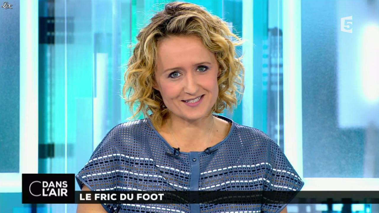 Caroline roux dans c dans l air 29 05 15 11 - Presentatrice c dans l air ...