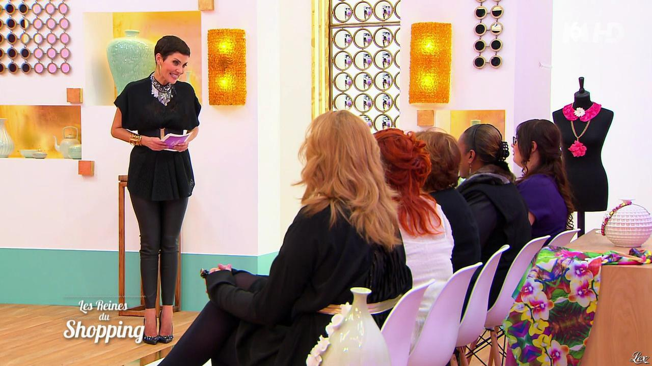 Cristina Cordula dans les Reines du Shopping. Diffusé à la télévision le 17/04/15.