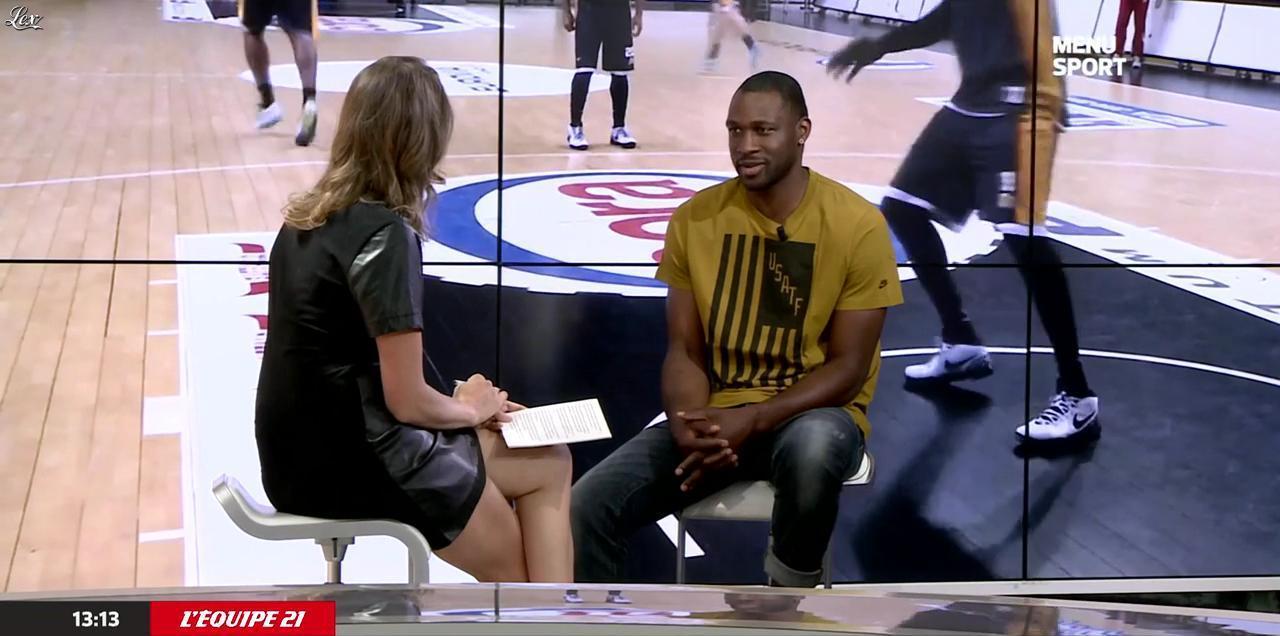 France Pierron dans Menu Sport. Diffusé à la télévision le 11/06/15.