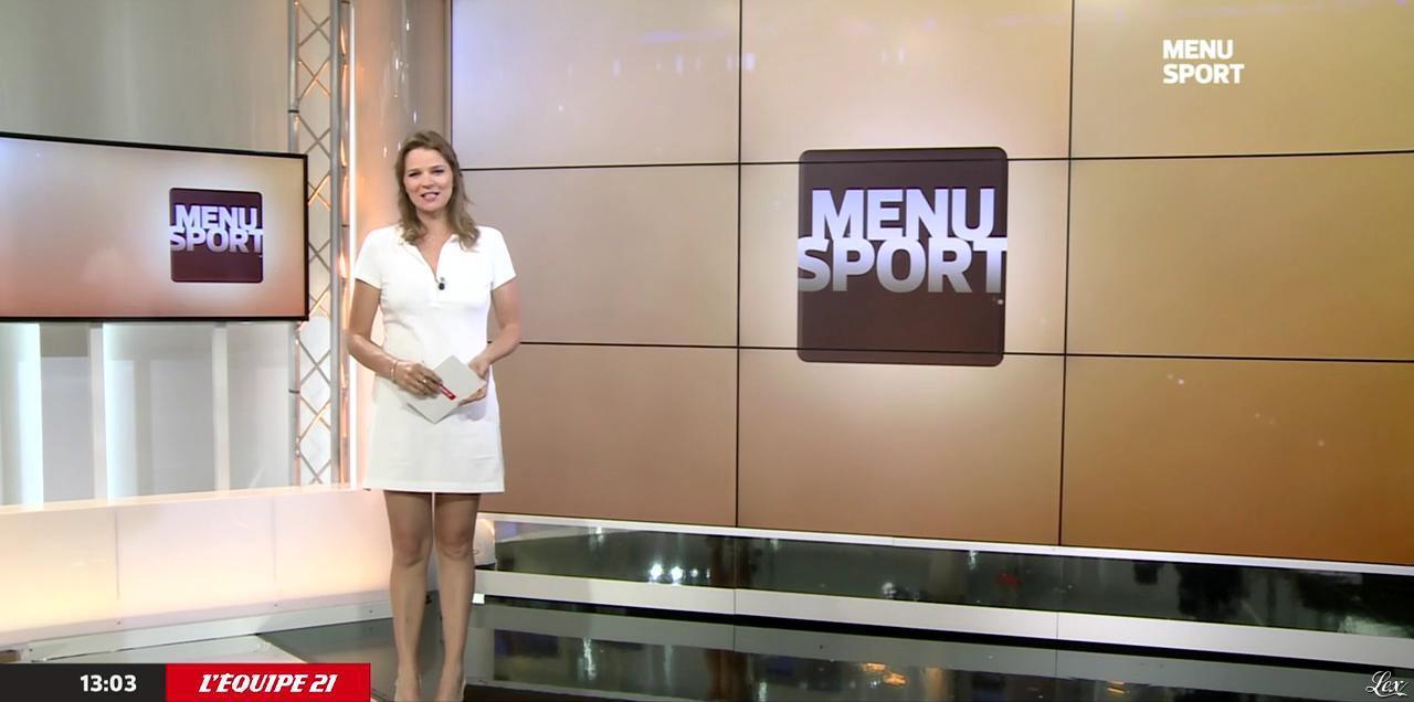 France Pierron dans Menu Sport. Diffusé à la télévision le 15/06/15.