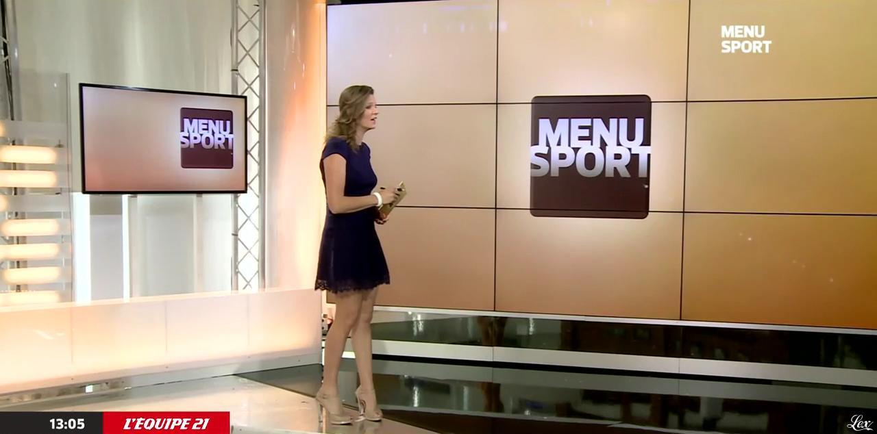 France Pierron dans Menu Sport. Diffusé à la télévision le 21/05/15.