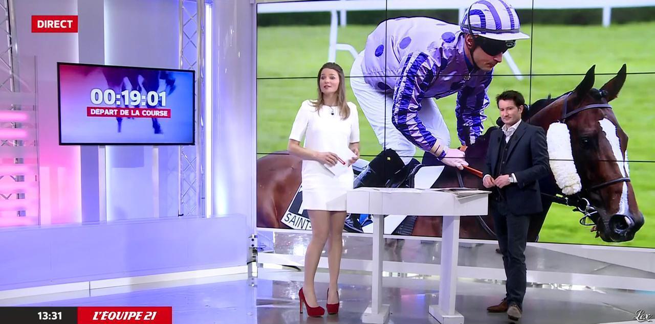 France Pierron dans Menu Sport. Diffusé à la télévision le 23/02/15.