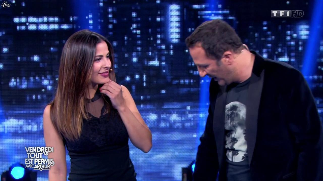 Gyselle Soares dans Vendredi, Tout Est Permis. Diffusé à la télévision le 16/01/15.