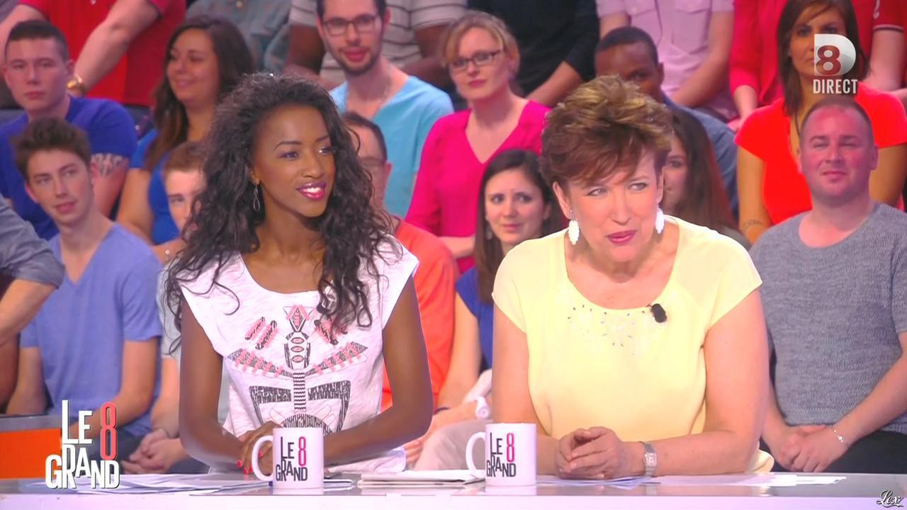 Hapsatou Sy dans le Grand 8. Diffusé à la télévision le 05/05/15.