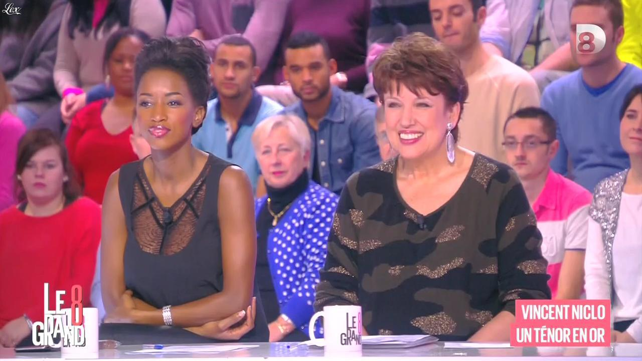 Hapsatou Sy dans le Grand 8. Diffusé à la télévision le 06/04/15.