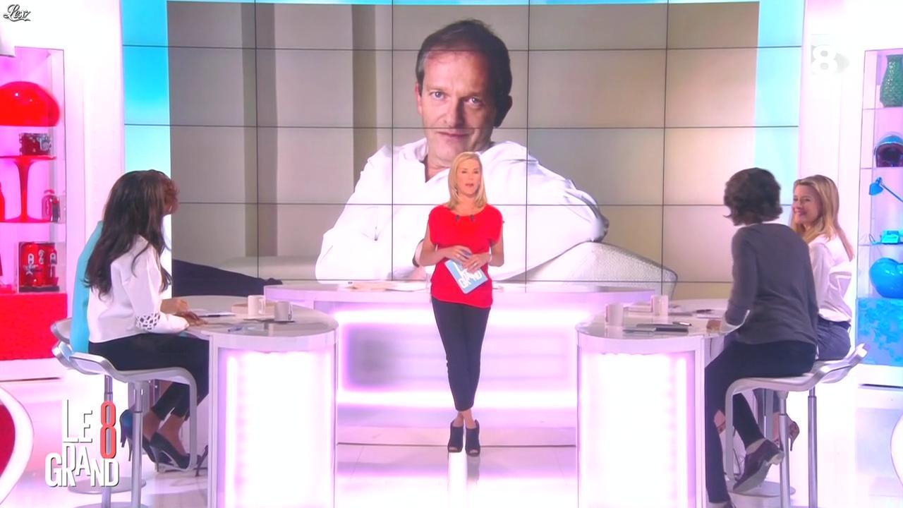 Laurence Ferrari, Hapsatou Sy et Audrey Pulvar dans le Grand 8. Diffusé à la télévision le 22/04/15.