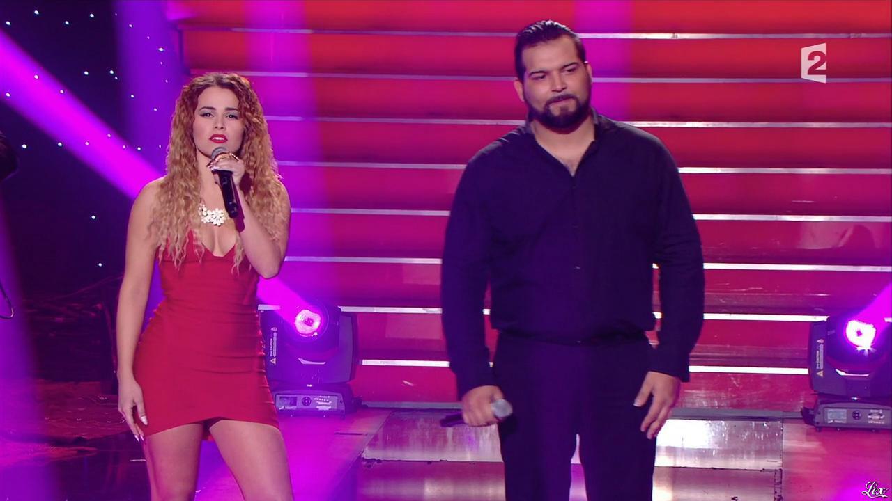 Luyanna dans le Grand Show. Diffusé à la télévision le 28/02/15.