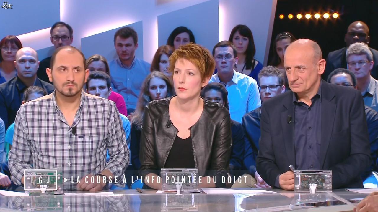 Natacha Polony dans le Grand Journal de Canal Plus. Diffusé à la télévision le 03/04/15.