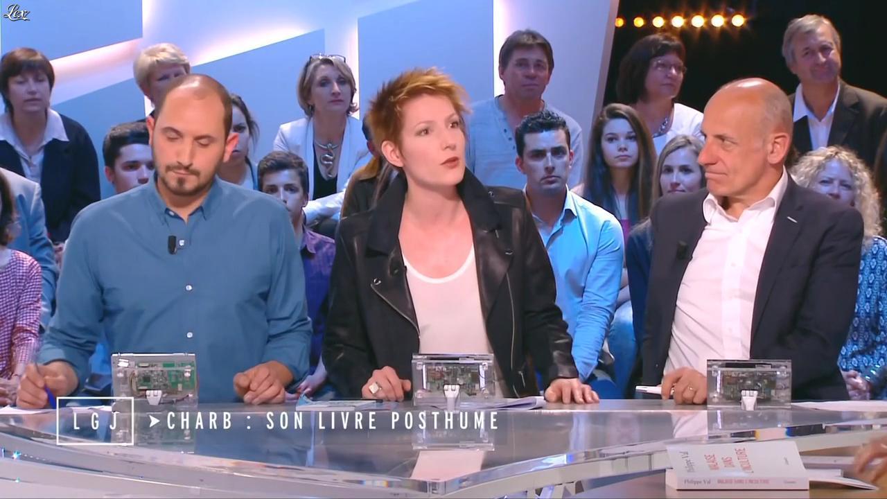 Natacha Polony dans le Grand Journal de Canal Plus. Diffusé à la télévision le 17/04/15.