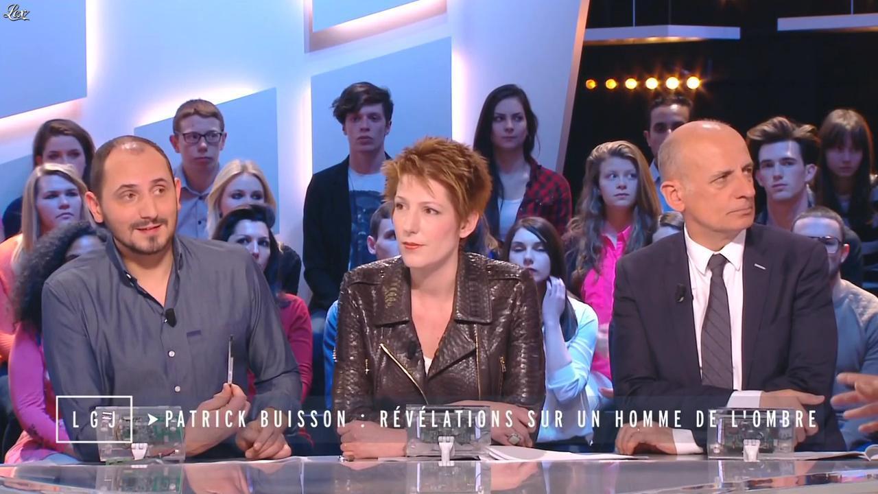 Natacha Polony dans le Grand Journal de Canal Plus. Diffusé à la télévision le 18/03/15.
