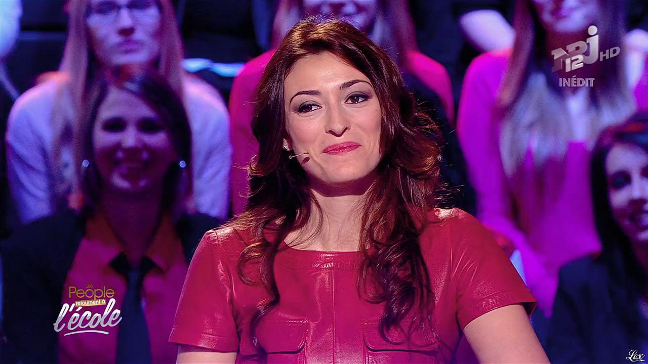 Rachel Legrain Trapani dans les People Retournent à l'Ecole. Diffusé à la télévision le 19/03/15.