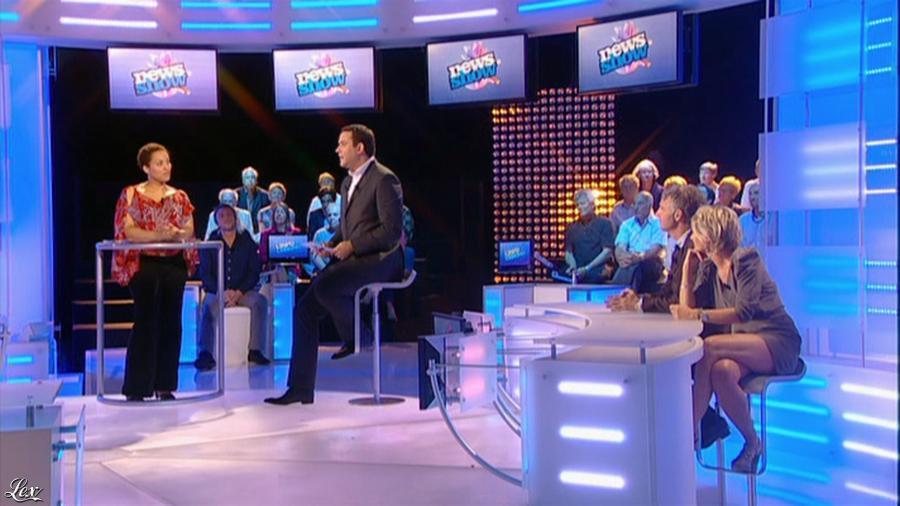 Sophie Davant dans le News Show. Diffusé à la télévision le 08/07/10.