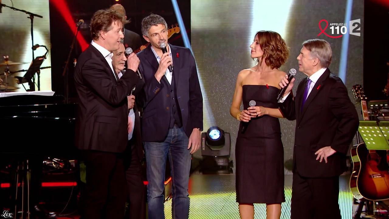 Virginie Guilhaume dans la Télé Chante pour le Sidaction. Diffusé à la télévision le 28/03/15.