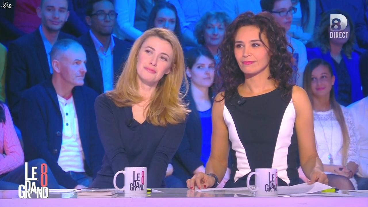 Aïda Touihri dans le Grand 8. Diffusé à la télévision le 01/03/16.