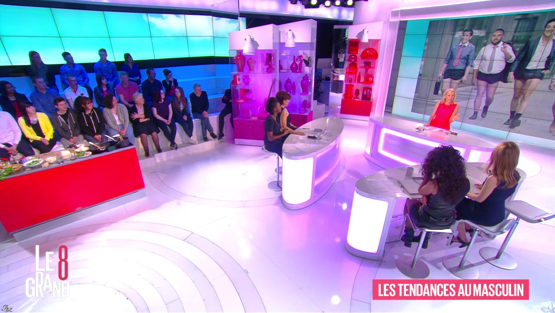 Aïda Touihri dans le Grand 8. Diffusé à la télévision le 20/04/16.