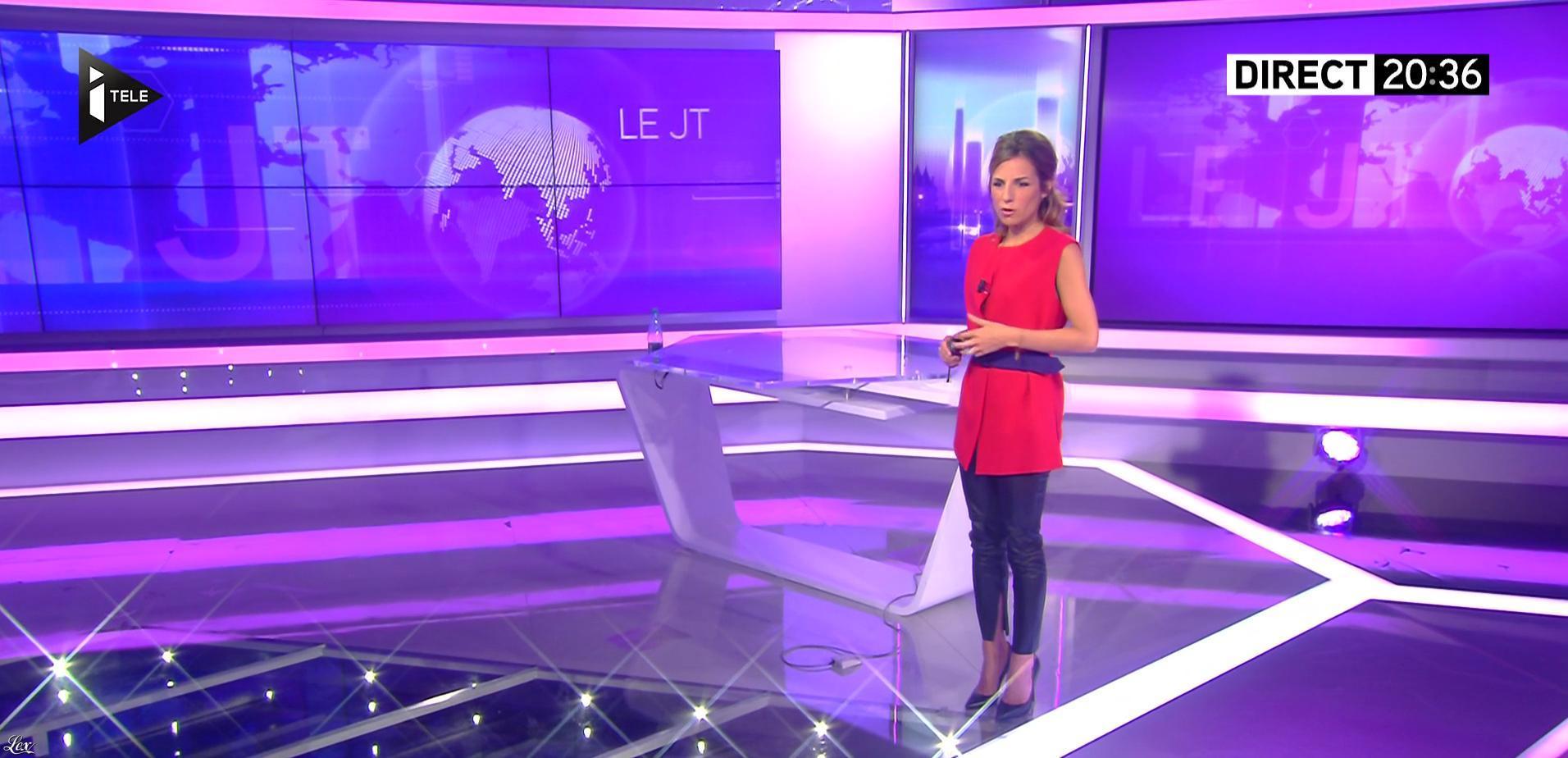 Alice Darfeuille dans le JT. Diffusé à la télévision le 13/07/16.