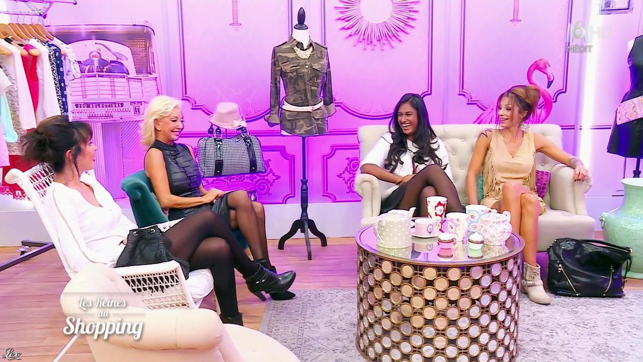Candidates dans les Reines du Shopping. Diffusé à la télévision le 08/01/16.