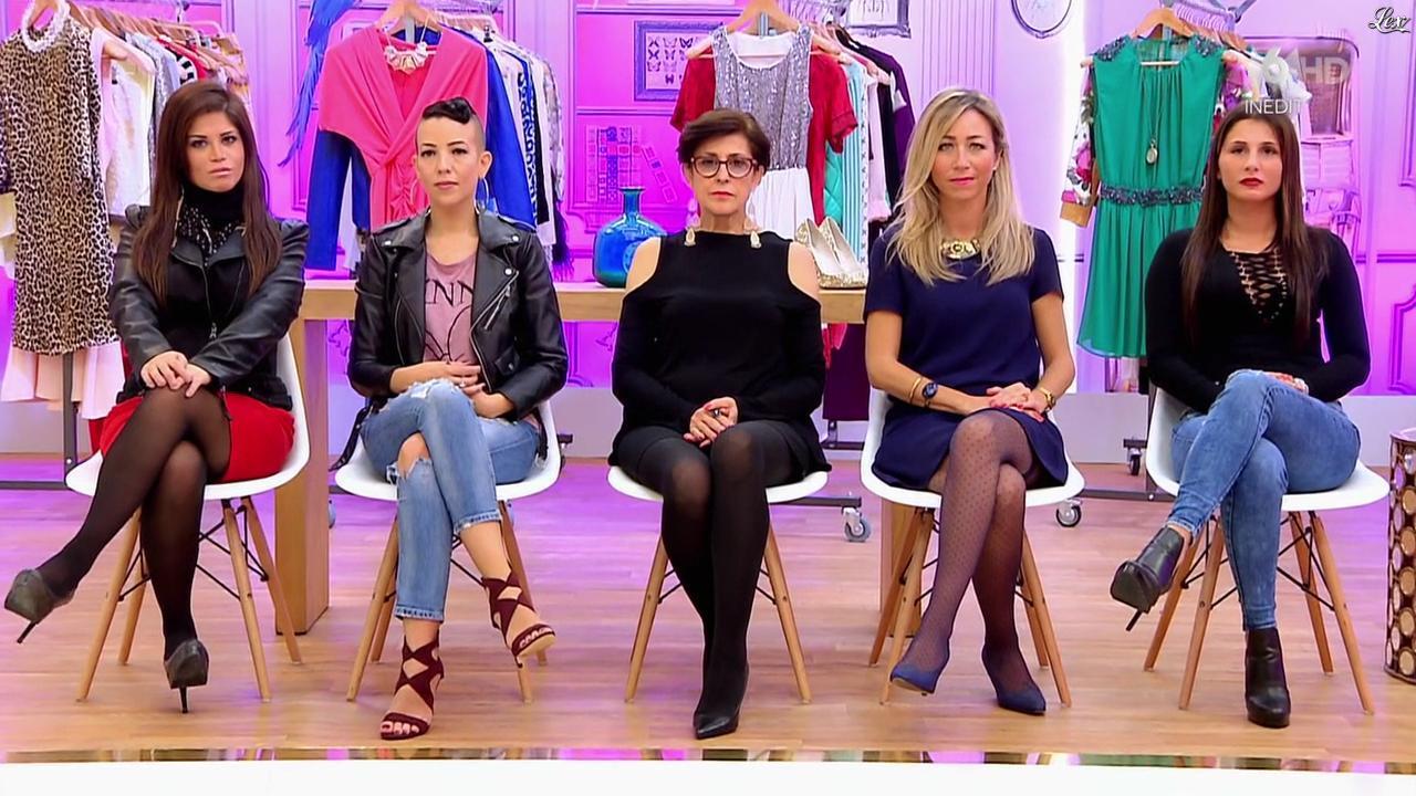 Candidates dans les Reines du Shopping. Diffusé à la télévision le 18/02/16.