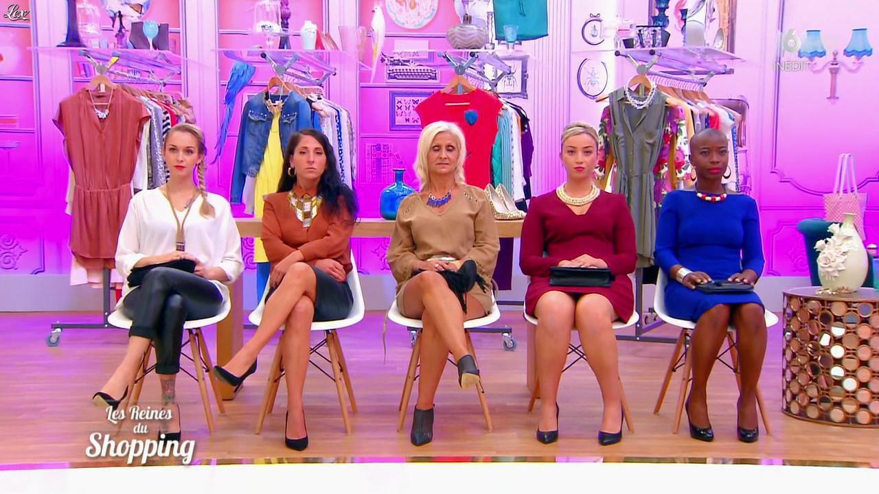 Candidates dans les Reines du Shopping. Diffusé à la télévision le 22/01/16.