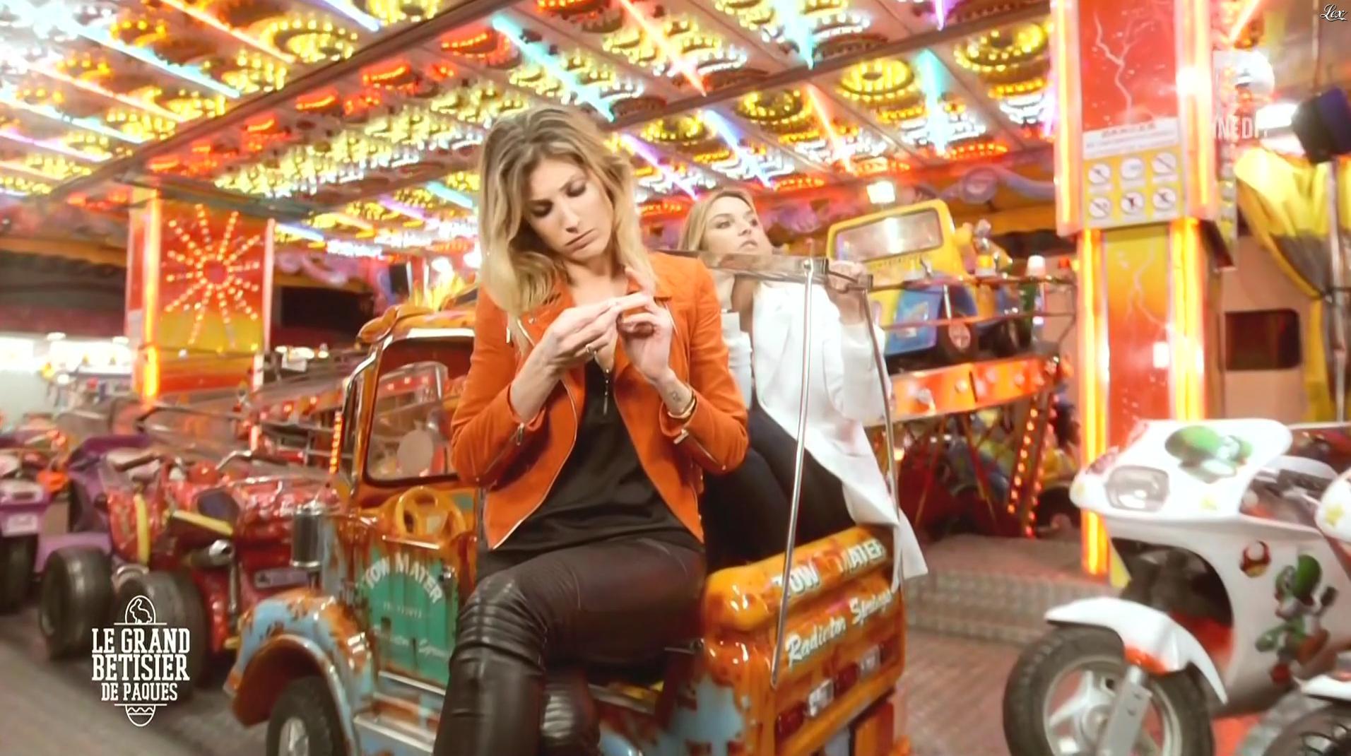 Caroline Ithurbide dans le Grand Bêtisier de Paques. Diffusé à la télévision le 17/03/16.