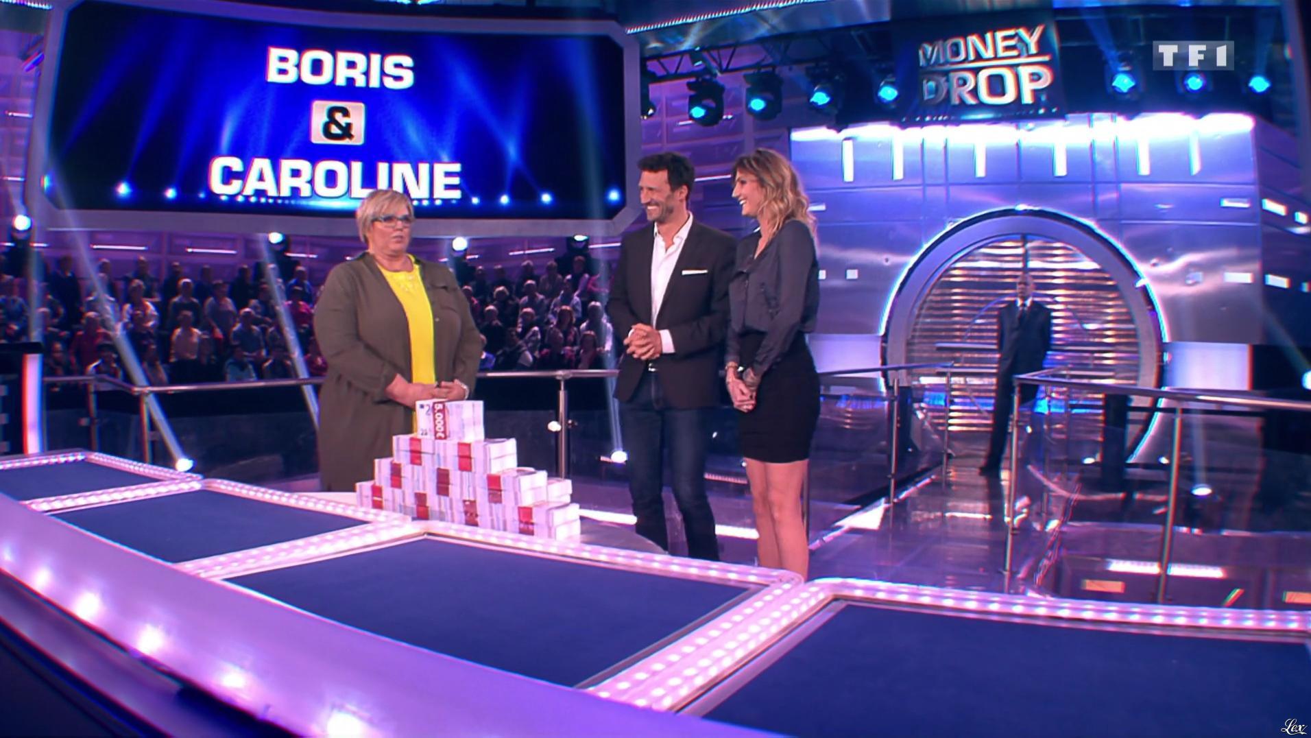 Caroline Ithurbide dans Money Drop. Diffusé à la télévision le 31/05/16.