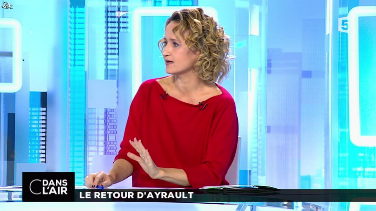 Caroline roux dans c dans l 39 air 13 11 15 02 - Presentatrice c dans l air ...