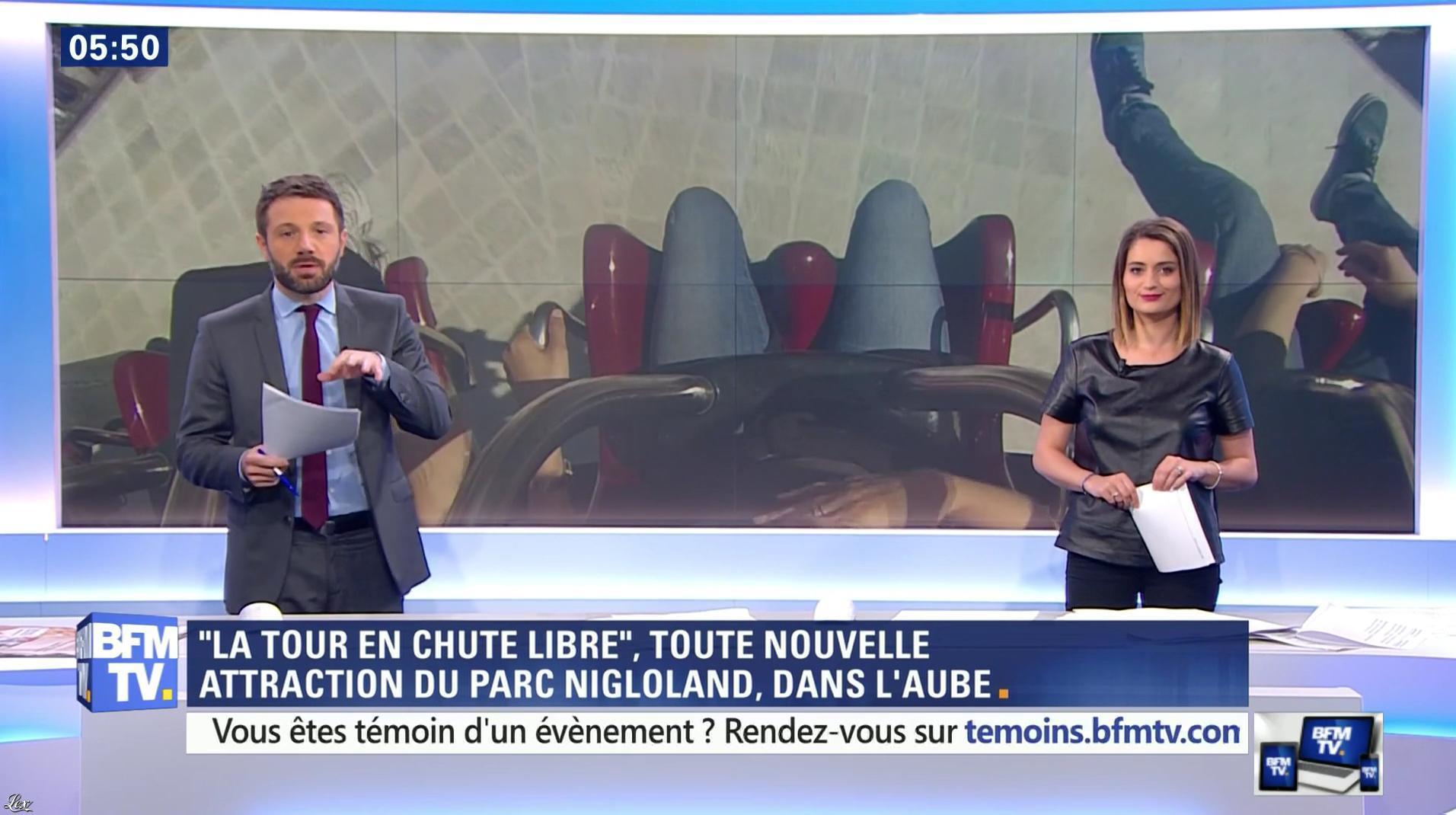 Céline Moncel dans Première Edition. Diffusé à la télévision le 13/05/16.